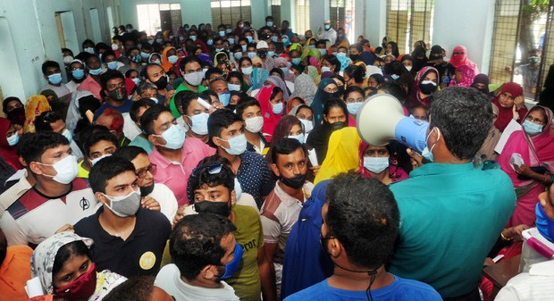 Millions Jabbed as Bangladesh Launches Walk-in Vaccine Centers