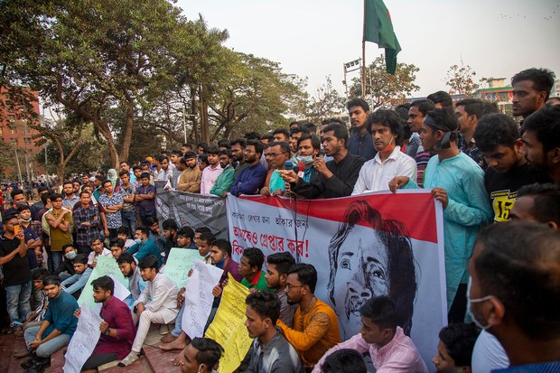 International Community Slams Bangladesh After Writer's Death in Jail