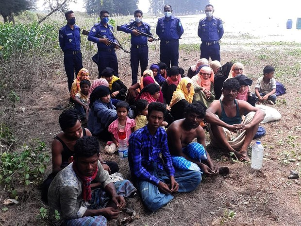Bangladesh Rescues 30 Rohingya from Sea, Sends Them to Remote Island