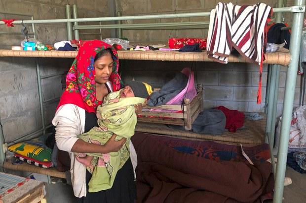 Bangladesh: OIC Visits Remote Island Housing Rohingya Refugees