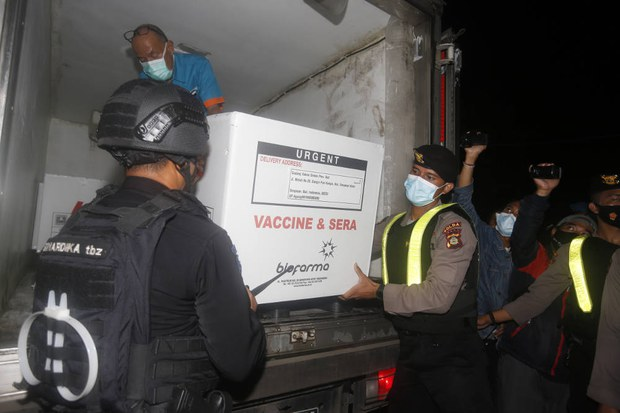 COVID-19: Indonesia Plans to Launch Mass Inoculations With Chinese Vaccine Next Week