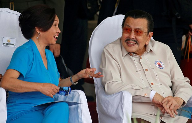 Former Philippine Leader Joseph Estrada Battling COVID-19
