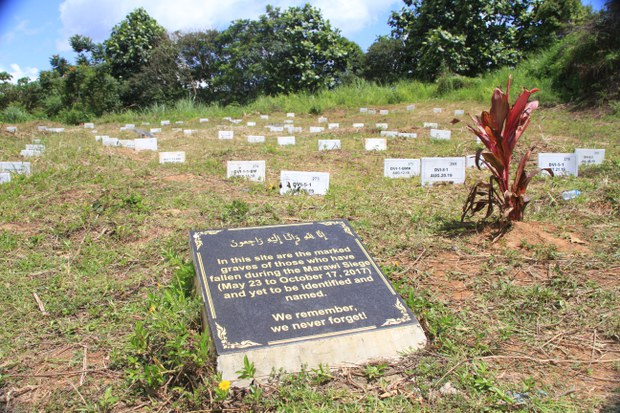 4 Years After Marawi Siege in Philippines, Hundreds of Graves Remain Nameless