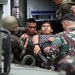 Philippine soldiers, wounded in a clash with Abu Sayyaf militants, arrive at a military hospital in Jolo, Sulu province, March 3, 2017.