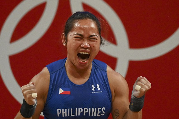 Philippines Toasts First Filipino to Strike Gold at Olympics