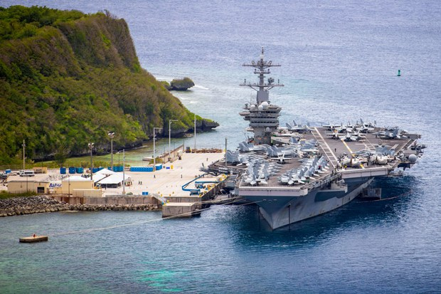 US Carrier Strike Group Sails Into South China Sea Amid Heightened Tensions