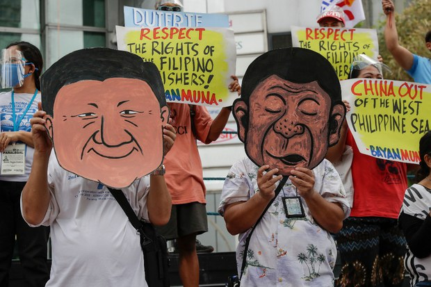 Philippine Leader: South China Sea Patrols Will 'Firmly Assert What is Ours'