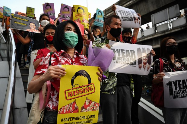 Thai Activist's Sister Marks First Anniversary of His Disappearance in Cambodia