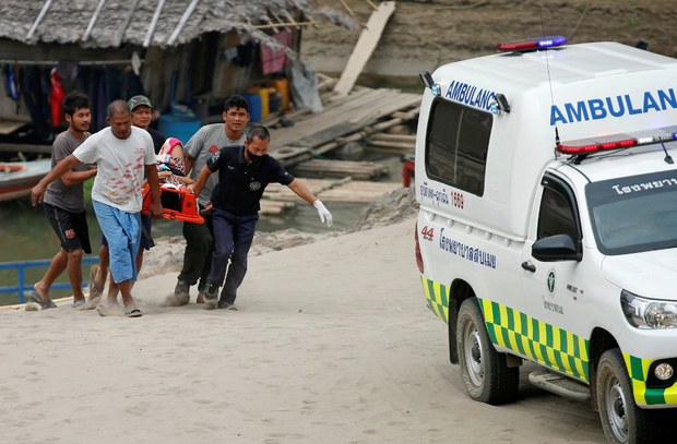 Thailand: Offering Humanitarian Assistance to Around 1,200 Who Fled Myanmar