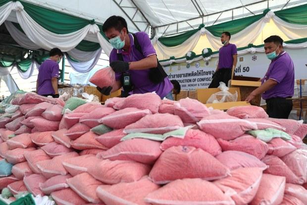 UN: Southeast Asian Meth Trade Grew in 2020 Despite COVID-19 Controls