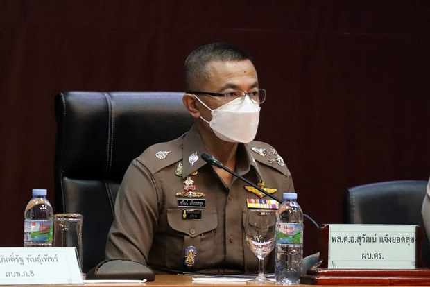 Senior Thai Policeman Charged over Drug Suspect's In-Custody Death